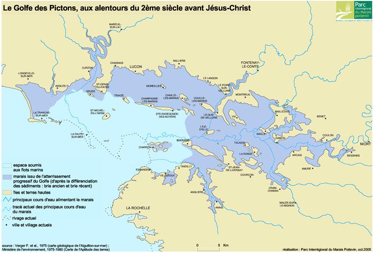 Le Golfe des Pictons, aux alentours du 2ème siècle avant J.-C.