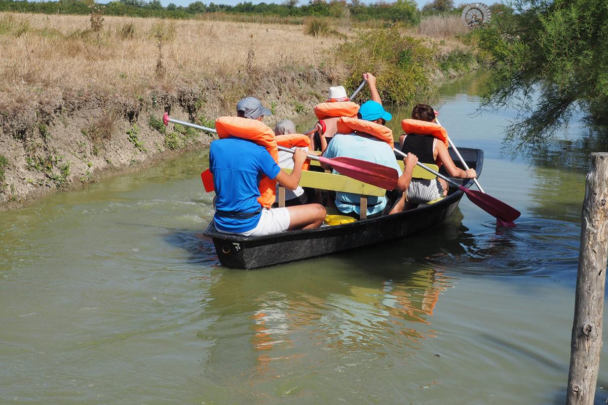 L'mbarcadère Le Tri Mar à Triaize au coeur du marais desséché
