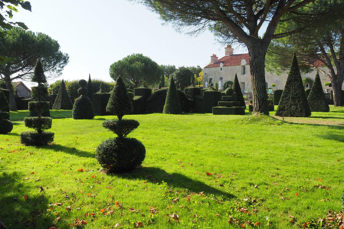 Le jardin du Bâtiment, William Christie à Thiré