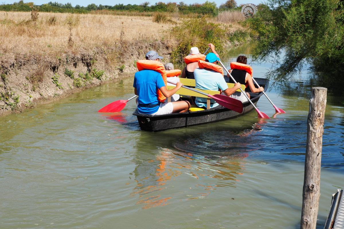 La barque tradtionnelle, activité nautique majeur pour découvrir le Marais Poitevin