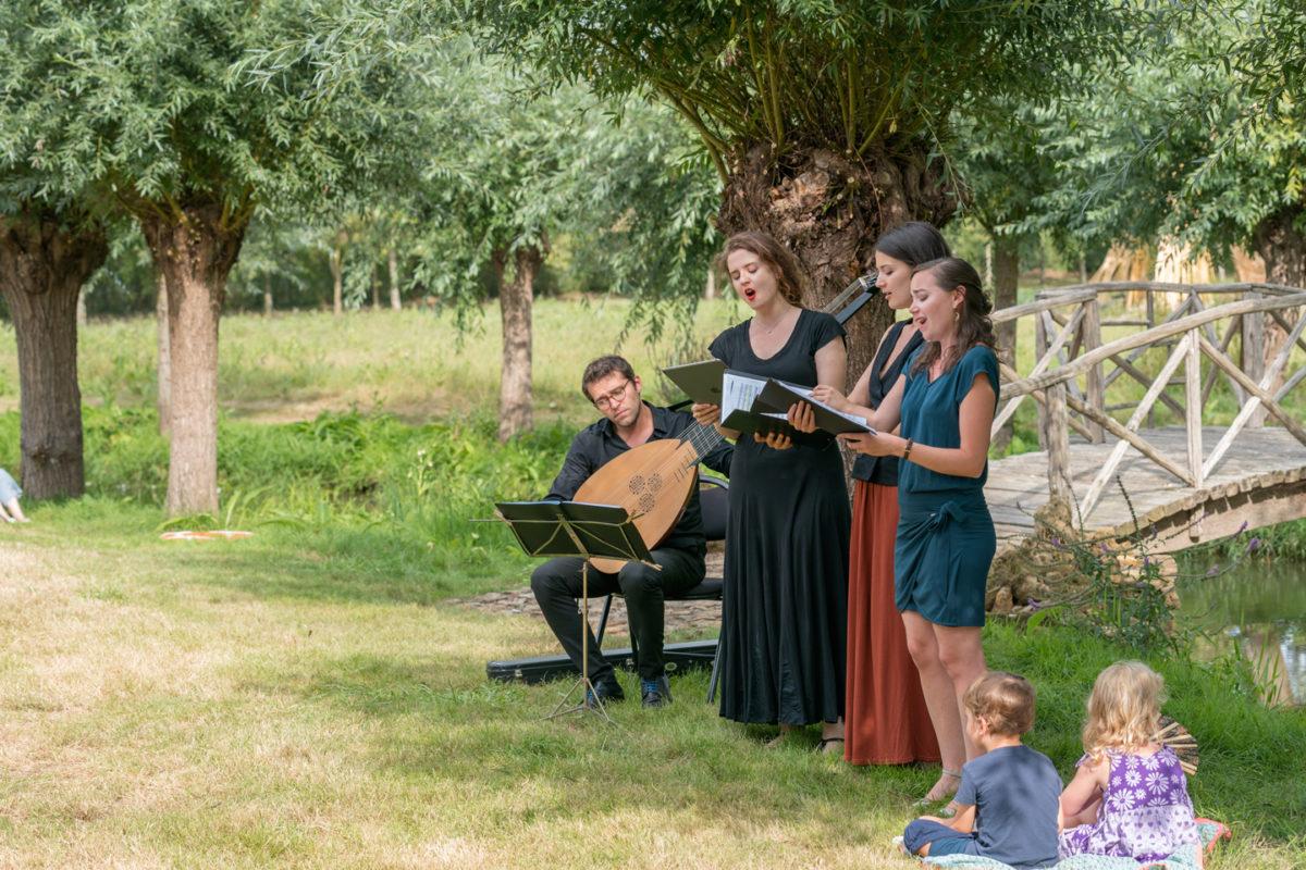 Les après-midi au jardin, Festival Dans les Jardins de William Christie à Thiré
