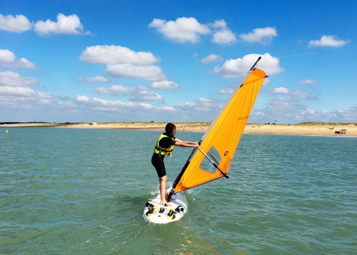 Windsurf ou planche à voile